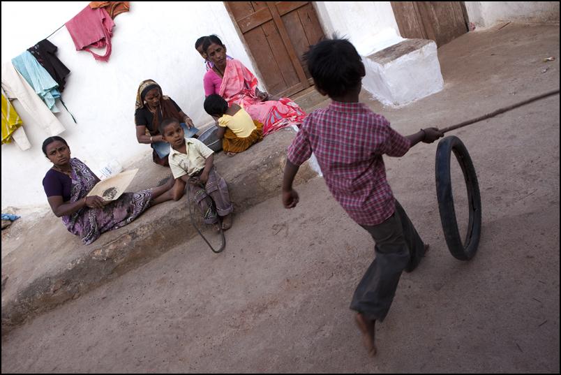 Playing. Badami. Karnataka
