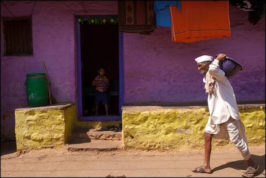 Colors. Badami. Karnataka