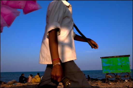 Beach. Pondicherry