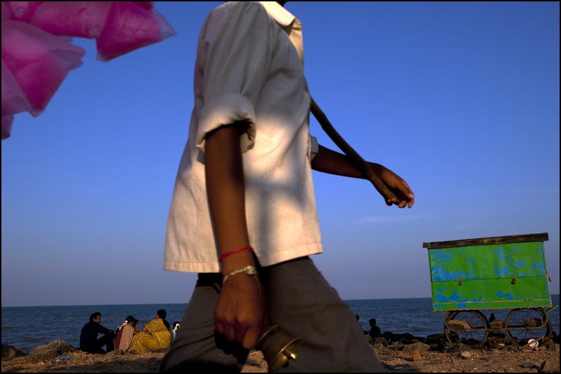 Beach. Pondicherry