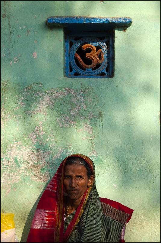 Posing in a street of Badami. Karnataka.<br /> http://www.claude-renault.fr