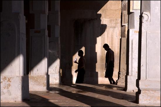 Shadows. Rameswaram