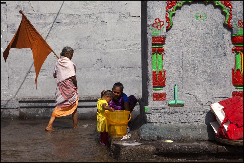 Pilgrims. Nashik. Maharashtra