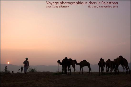Voyage Photographique dans le Rajasthan, avec Claude renault