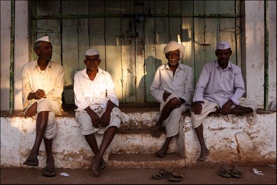 Friendship. Badami. Karnataka