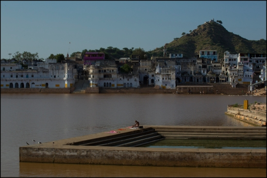 Meditation. Pushkar