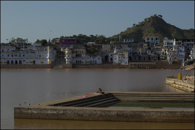 Meditation. Pushkar