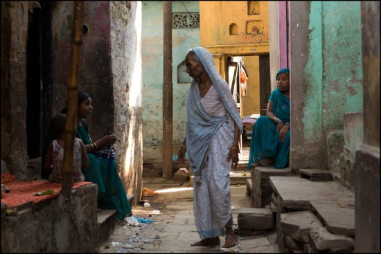 Street Life. Varanasi
