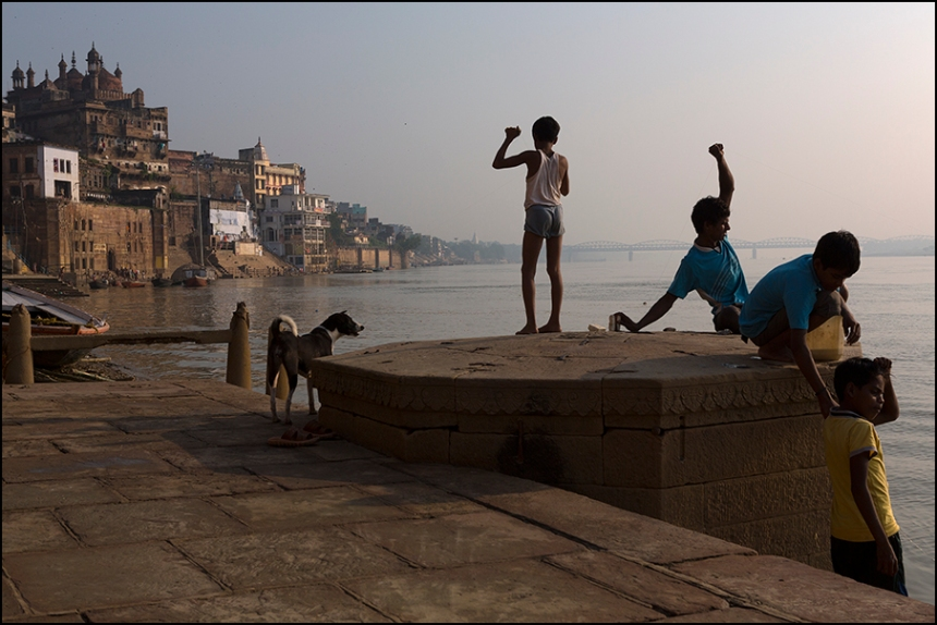 On the Ghats. Varanasi