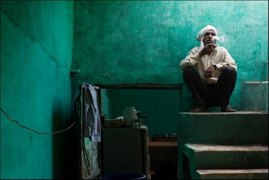 Resting. Orchha. madhya Pradesh