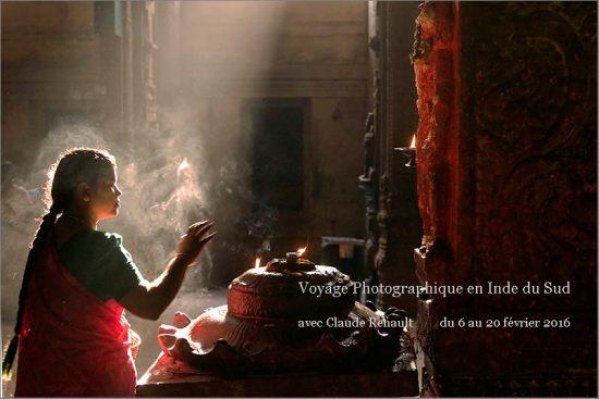 Voyage Photographique en Inde du Sud.